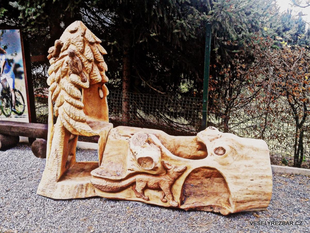 Dřevěná sculptura - Jiří Veselý řezbář a sochař
